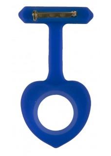 Housse en Silicone Coeur Bleu Royal