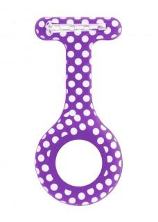 Housse en Silicone Polka Dots Violet