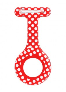 Housse en Silicone Polka Dots Rouge