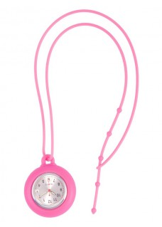 Montre en Silicone Cordon Rose