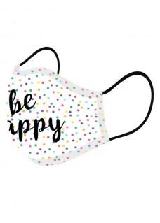 Masque en Tissu Be Happy