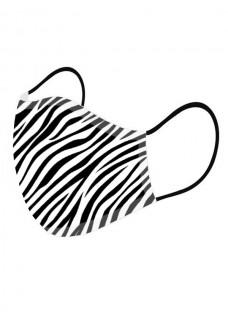 Masque en Tissu Zèbre