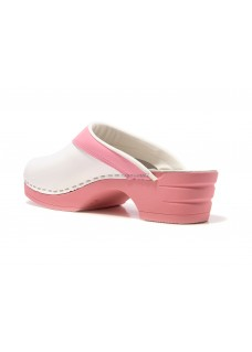 OUTLET size 37 Moofs Pink and White