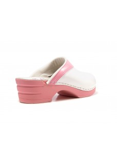 OUTLET size 41 Moofs Pink and White