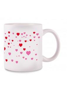 Tasse Stick Heart Blanc