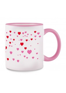 Tasse Stick Heart Rose