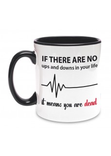 Tasse Up and Down Noir