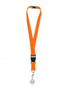 Montre Cordon à Clés Orange