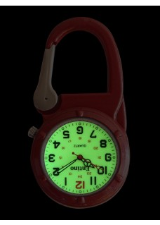Montre Infirmière NOC452 Rouge