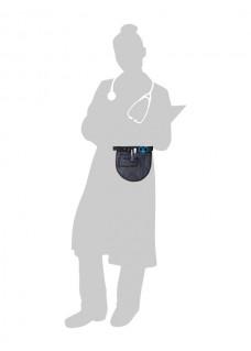 Pochette Infirmière Bleu Marine avec un Contenu GRATUIT!