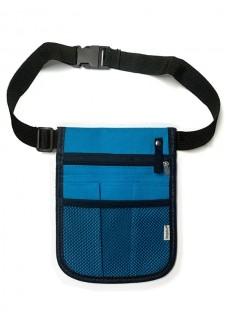 Pochette Infirmière Neon Bleu