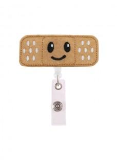 Porte Badge Band AID Smile