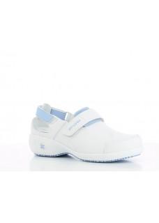 Oxypas Salma Blanc/Bleu