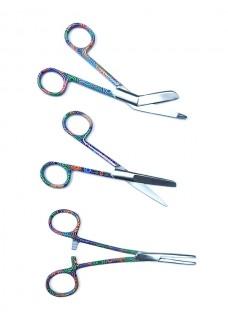 Set de ciseaux Color Spirals