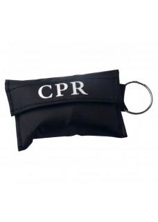 CPR Masque Porte-clés Noir