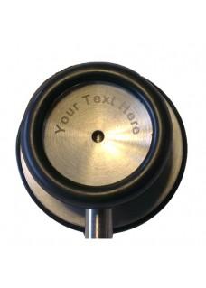 Stéthoscope Basique Double Noir