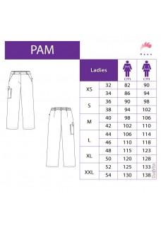 Haen Pantalon pur femmes Pam