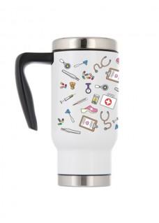 Mug Isotherme Symboles Médicaux