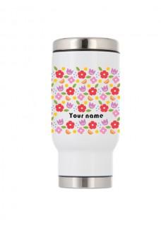 Mug Isotherme Fleurs Vintage