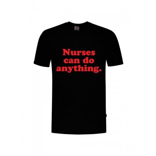 T-Shirt Nurses Can Do Anything Noir