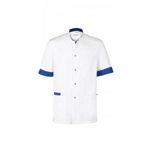 Haen Tunique Floris White/Royal Bleu