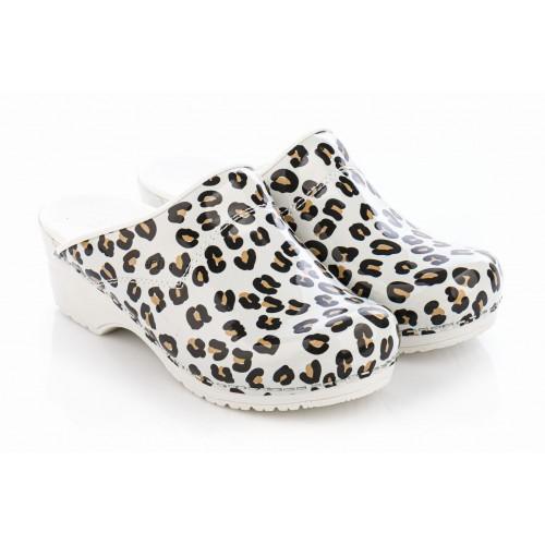 Sanita Model 314 Leopard Blanc