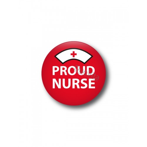 Badge Proud Nurse