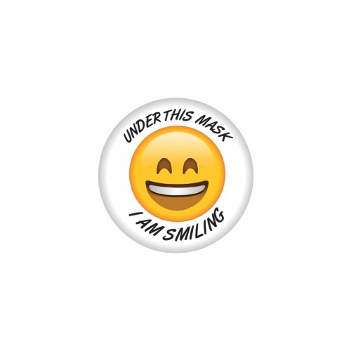 Badge Smiling