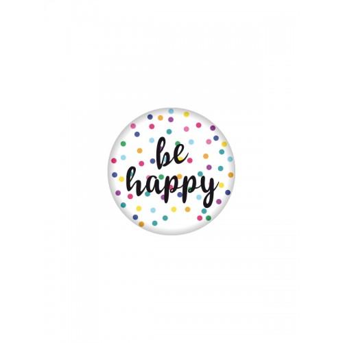 Badge Be Happy