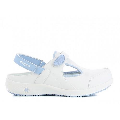 Oxypas Carin Blanc/Bleu
