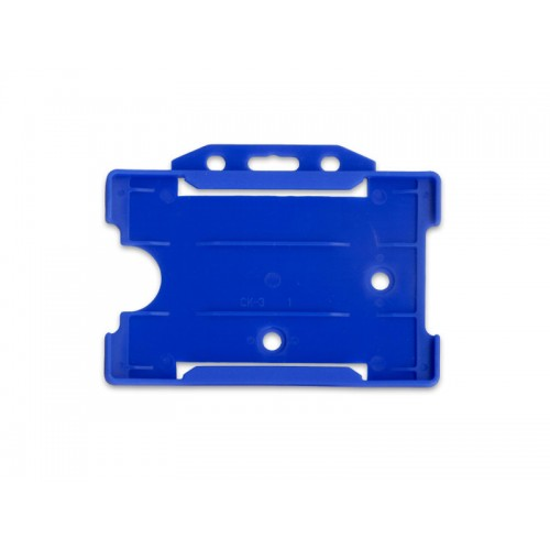 Porte-Badge Bleu