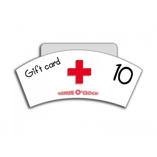 Bon cadeau 10 € Nurse O'Clock