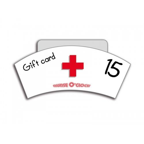 Bon cadeau 15€ Nurse O'Clock