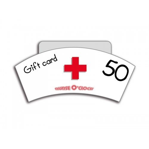 Bon cadeau 50€ Nurse O'Clock