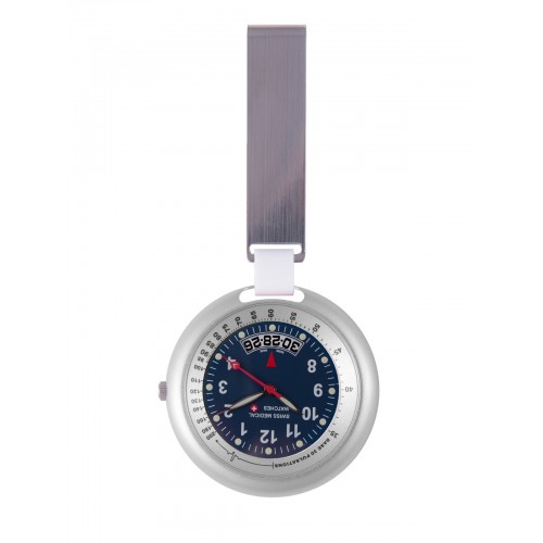 Montre Swiss Medical Professional Line Argent Bleu  - Limited Edition