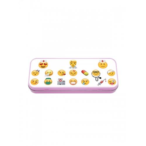 Trousse en Métal Emoji