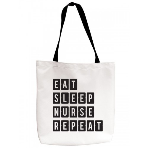 Sac Réutilisable Eat Sleep Nurse Repeat