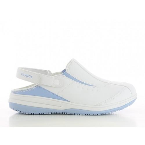 Oxypas Iris Blanc/Bleu