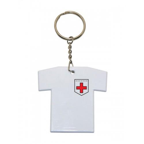 Porte-Clés T-Shirt Croix