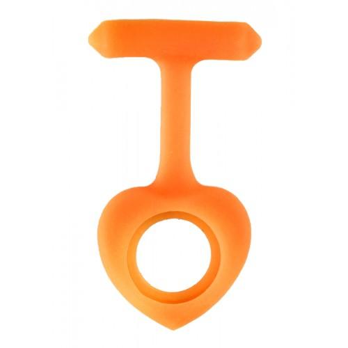 Housse en Silicone Coeur Orange
