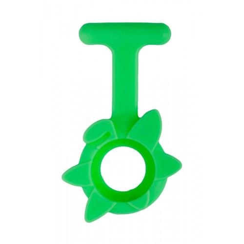 Housse en Silicone Printemps Fleur Vert Citron