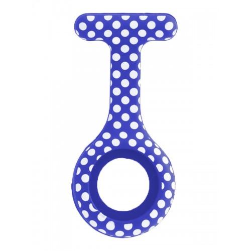 Housse en Silicone Polka Dots Bleu