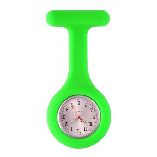 Montre Infirmière Standard Silicone Vert Citron