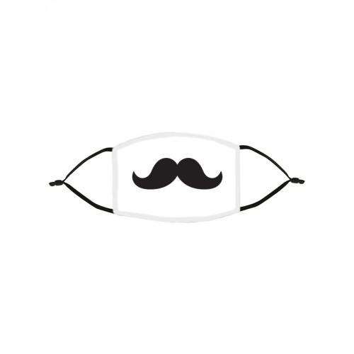 Masque en Tissu Moustache