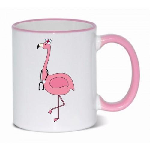 Tasse Flamingo Rose