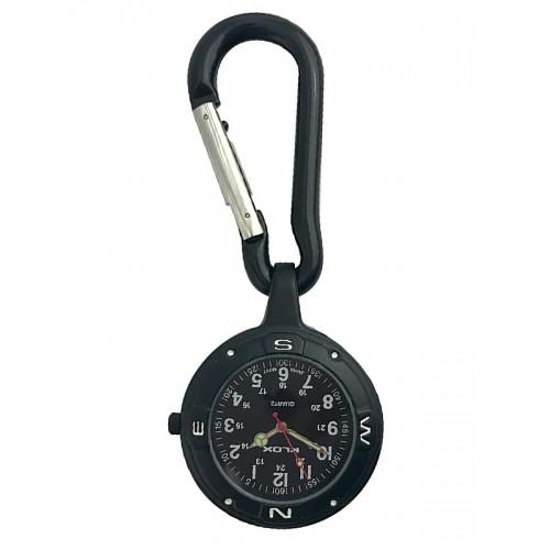 Montre Infirmière Mousqueton NOC451 Stealth Black