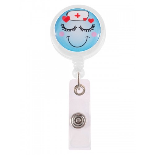 Porte Badge Enrouleur Lovely Nurse