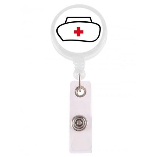 Porte Badge Enrouleur Infirmière