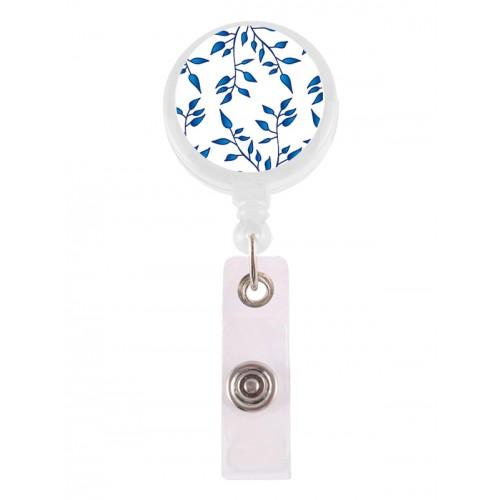 Porte Badge Enrouleur Porcelaine