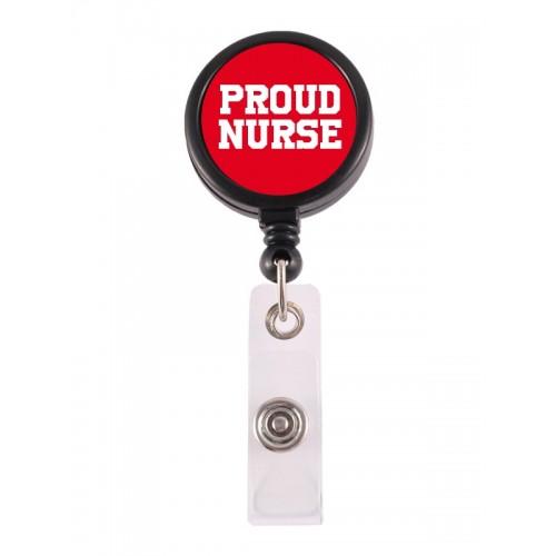 Porte Badge Enrouleur Proud Nurse